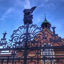 St Hugh's main gate