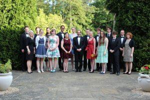 The Chaplain and Chapel Choir