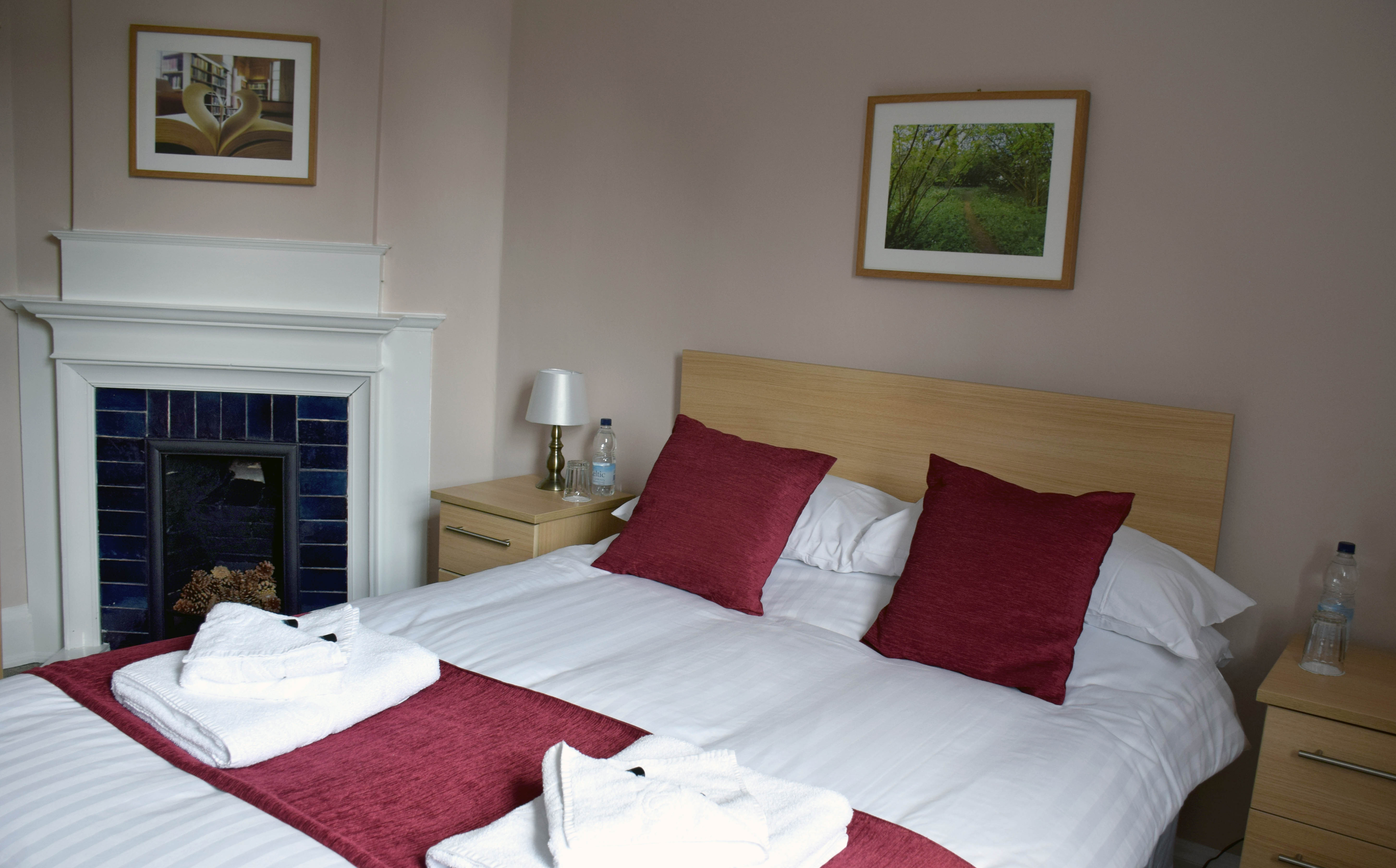 All rooms are furnished and appointed as a typical scholar s study bedroom   with the extra provision for visitors of bed linen  towels  toiletries. Bed and Breakfast   St Hugh s College  Oxford