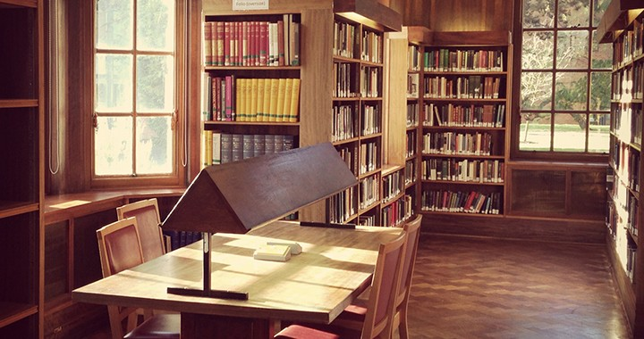 library study desk