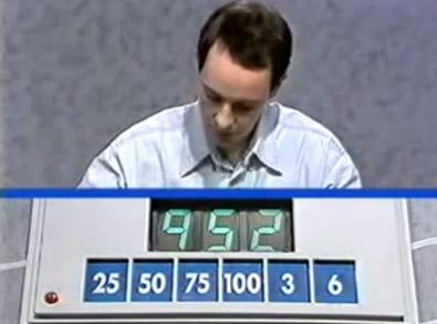 Professor James Martin on Countdown