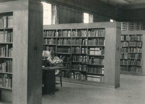 Girl in Library 1960