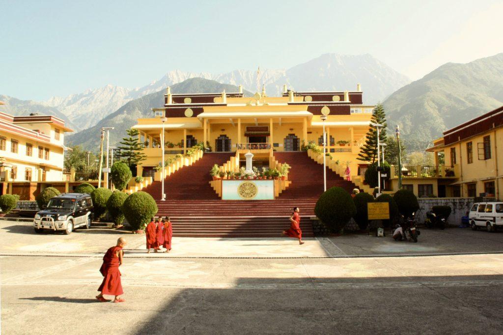 Monks playing (Dharamsala, Himachal Pradesh)