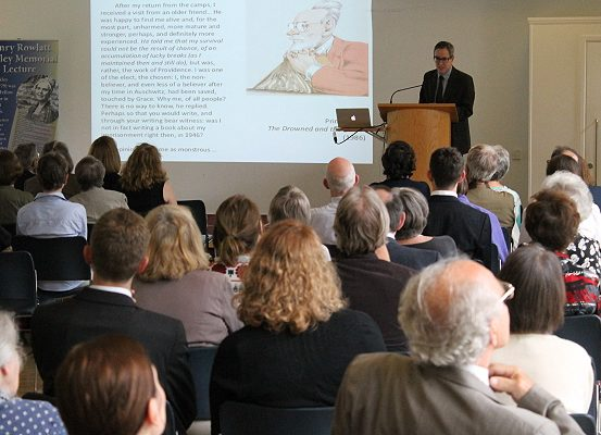Bickley Memorial Lecture with Professor Robert Gordon