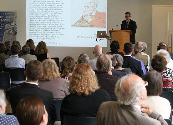 Bickley Memorial Lecture with Professor Robert Gordon