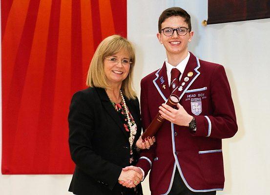 St Ninian's High School's Head Boy, Ronan Doherty