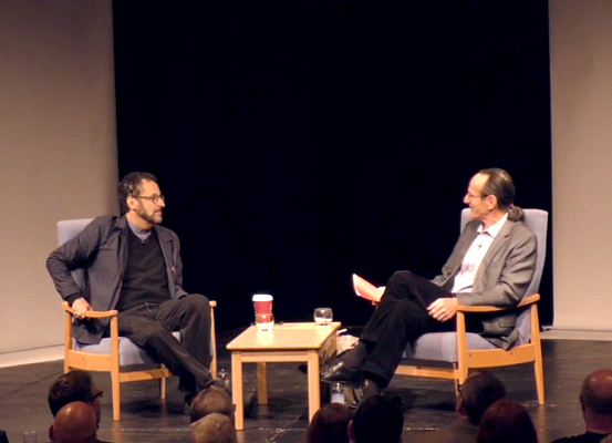 Tony Kushner speaks to Dr Tom Kuhn about his interest in Brecht - International Brecht Symposium 2016 (St Hugh's College, Oxford)