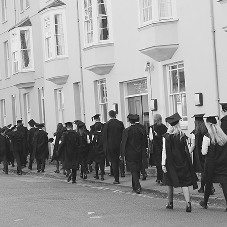 Matriculation 2016 - Photograph by Mathilde Merouani