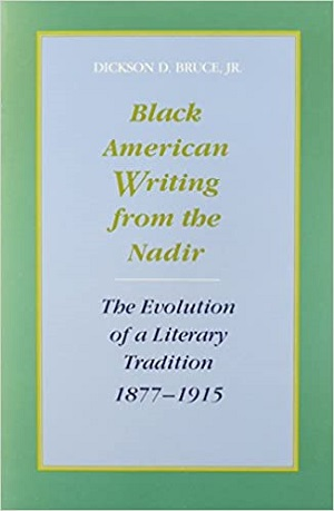 Black American writing from the nadir