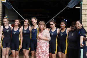 The Principal & Women's Second Crew - Summer Eights 2016