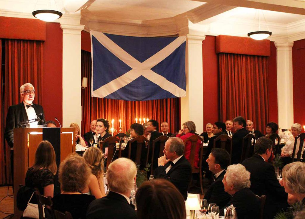 Alistair Darling at Burns Night Supper