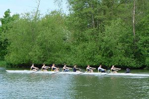 """Men's Second Crew - """"Rowing On"""" for Summer Eights 2016"""
