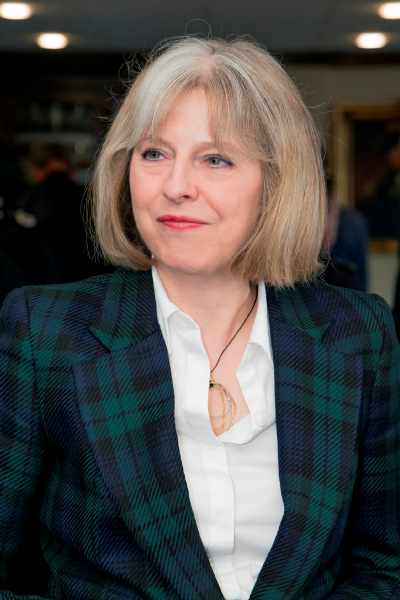 Statement on The Rt Hon Theresa May MP - St Hugh's College, Oxford