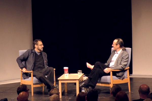 Tony Kushner speaks to Dr Tom Kuhn about his interest in Brecht - International Brecht Symposium 2016 (St Hugh's College, Oxford)